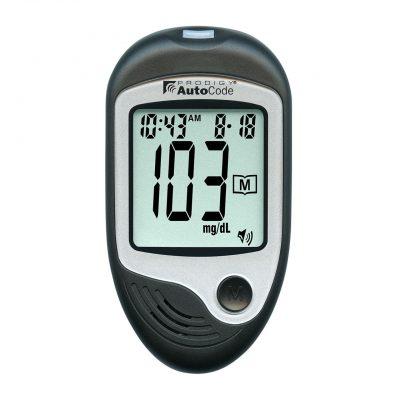 AutoCode Talking Blood Glucose Monitoring Kit - 4 Languages