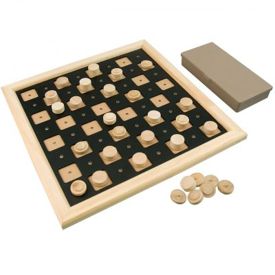 Tactile Checkers Set