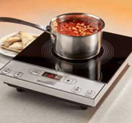 Talking Single Induction Hob